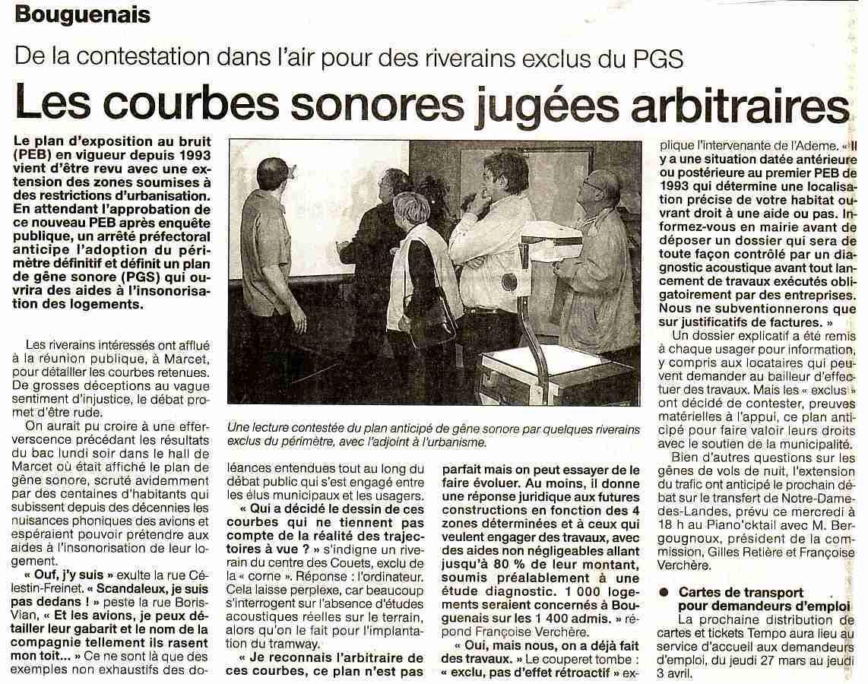 Françoise Verchère, Bouguenais, Notre-Dame-des-Landes, NDDL, bruit DGAC