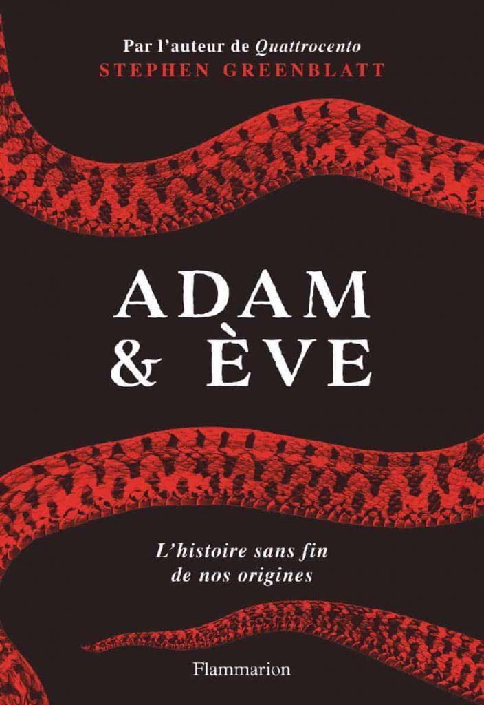 Couverture Adam et Ève de Stephen GreenBlatt