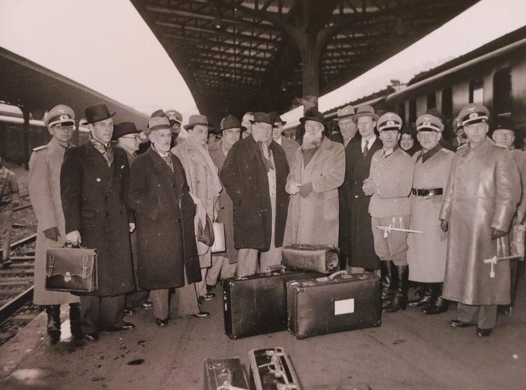 Voyage de Paul Belmondo en Allemagne